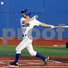 Hit: Rex #1, Cole Vicars makes contact with the ball during game action against Chillicothe Tuesday night.
