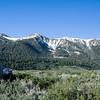 View from the Hotel in Mammoth Lake, man kann uebrigens hier noch im Juni Skifahren. Es sind balmige 10 Grad vorm Hotel und ich habe nur kurze Hosen mit...