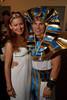 (Denver, Colorado, June 25, 2010)<br /> Jen Wilson and Kevin Zaloudek.  Flappers and Pharaohs Bash at the Denver Art Museum in Denver, Colorado, on Friday, June 25, 2010.<br /> STEVE PETERSON