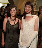 (Denver, Colorado, June 25, 2010)<br /> Catherine Foy and Lisa Levinson.  Flappers and Pharaohs Bash at the Denver Art Museum in Denver, Colorado, on Friday, June 25, 2010.<br /> STEVE PETERSON