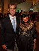 (Denver, Colorado, June 25, 2010)<br /> Dave Lee with his mother, Mary Ann Lee, who bought her outfit in Egypt.  Flappers and Pharaohs Bash at the Denver Art Museum in Denver, Colorado, on Friday, June 25, 2010.<br /> STEVE PETERSON