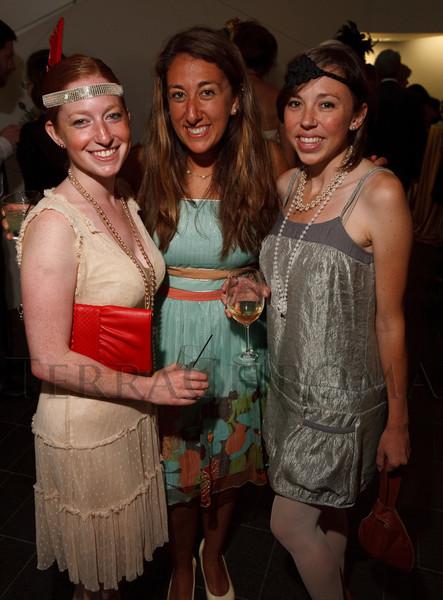 (Denver, Colorado, June 25, 2010)<br /> Rebecca Engel, Rachel Uslan, and Diana Best.  Flappers and Pharaohs Bash at the Denver Art Museum in Denver, Colorado, on Friday, June 25, 2010.<br /> STEVE PETERSON