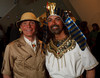 (Denver, Colorado, June 25, 2010)<br /> Lawrence French and Gregory Sargowicki (Lifestyles Catering director of marketing).  Flappers and Pharaohs Bash at the Denver Art Museum in Denver, Colorado, on Friday, June 25, 2010.<br /> STEVE PETERSON
