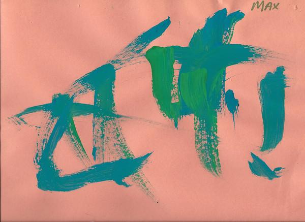Max's June Art Project