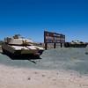 Fort Irwin in the Mojave Desert