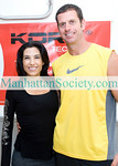 SAG HARBOR-AUGUST 21: Rebecca Kordecki, Rich Decker attend  KOR+ Fitness /Booty Slide Launch Party Featuring Rebecca Kordecki on Saturday, August 21, 2010 at Studio 89, 89 Clay Pit Road, Sag Harbor, New York   (PHOTO CREDIT: ©Manhattan Society.com 2010 by  Christopher London)