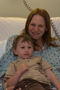 Noah visits the hospital