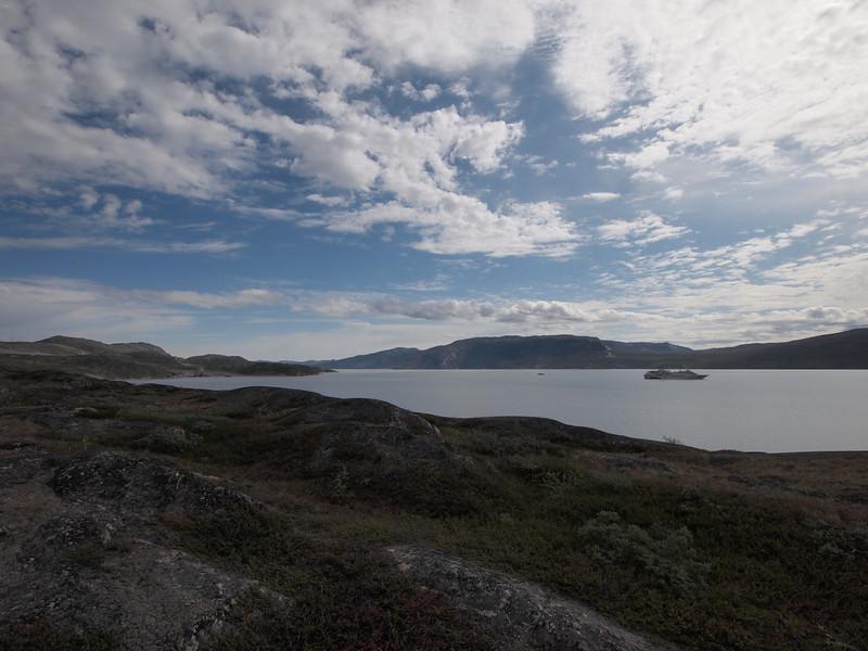 View over the fiord<br /> <br /> Photo: Kenji Kawamura