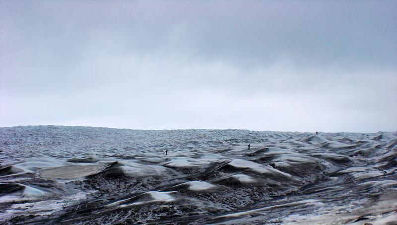The glacier ice up close<br /> <br /> Photo: Christian Panton