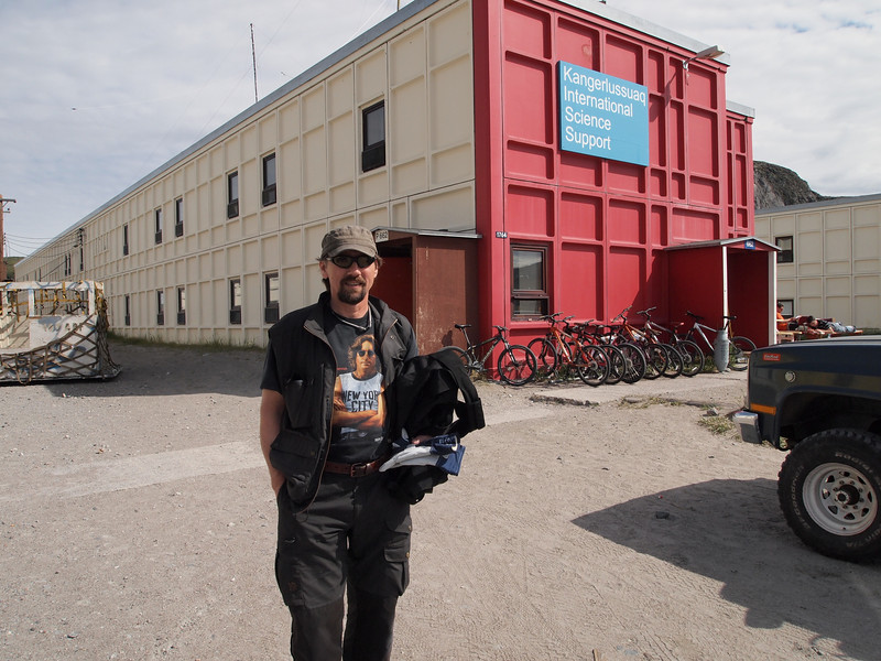 The home for scientist in Kangerlussuaq<br /> <br /> Photo: Kenji Kawamura