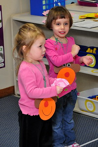 Rayna and Cailyn at Kindercare