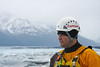Captain Casey Cook and the Knik Glacier
