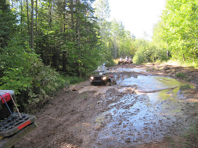 LAKE GOGEBIC 4-WHEELER TRIP 9/9/2010