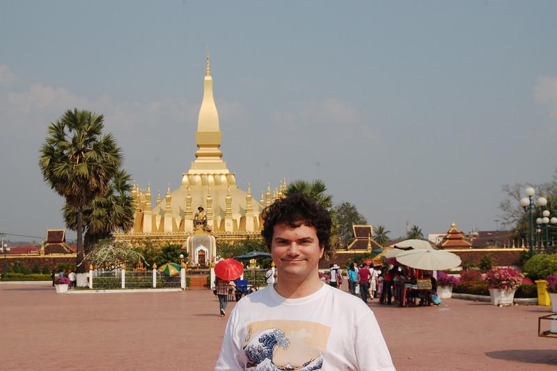 Matt in Vientiane