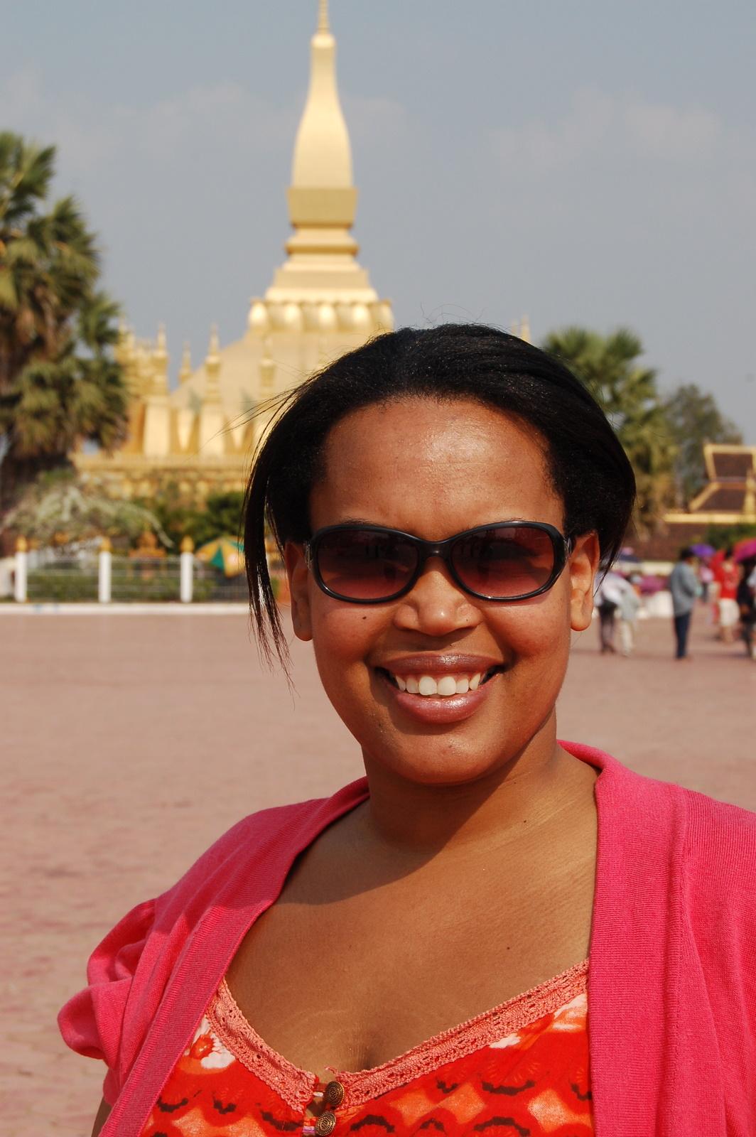 Sherry in Vientiane