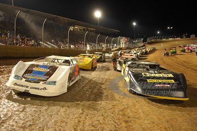 Starting lineup @ Lawrenceburg Speedway