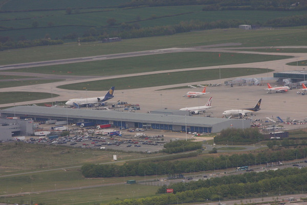 London Stansted (Aerial) : 13th May