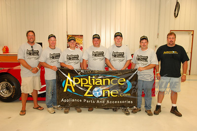 ApplianceZone.com drivers -- Chris Wall, Steve Casebolt, Don O'Neal, Jimmy Owens and Ray Cook