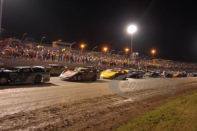 Starting Lineup @ Magnolia Motor Speedway - Columbus, MS
