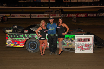 Eric Wells won the Red Buck Cigars Fast Time Award