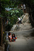 Children play in the streets of Antipolo, enjoying life oblivious to their poverty.