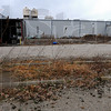 Gone in the wind: The parking lot of the old Casey Tool and Machine is overgrown with weeds. Clark county lost 100 jobs when they closed their doors in 2008.
