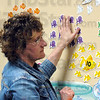 Count: Mrs. Emily Condon works with her pre-school class at Deming Elementary School Thursday afternoon.