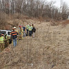 Evening accident: A single vehicle accident sent one woman to the hospital Tuesday evening. Her vehicle left State Road 46 about one half mile south of I-70, travelled down a slope and came to stop across a small drainage ditch. She was taken to Union Hospital.