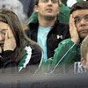Oh misery: West Vigo fans Jaime and Chris Burson react to the final minute of play of West Vigo's game against Brown Co.  The Vikings lead most of the game to lose it in the final ticks of the contest.