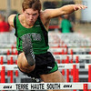 Fastest: West Vigos Shane Wycoff won the 110 meter hurdles in the Vikings meet at Terre Haute South Tuesday evening.