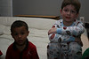 Romi's friends Jayden and Riley