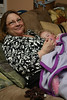 Mommom holds Ashleigh when she finally falls asleep