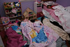 the girls sleepover party- too cute!