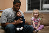 Ashleigh hangs with Uncle Will and Marshall