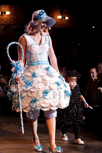 (Denver, Colorado, March 18, 2010)<br /> Sixth Annual Art Directors Club Denver Paper Fashion Show at Mile High Station in Denver, Colorado, on Thursday, March 18, 2010.<br /> STEVE PETERSON
