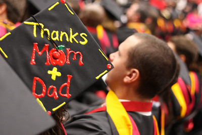 The 108th annual Commencement of Gardner-Webb University held in the Lutz-Yelton Convocation Center on May 17, 2010 at 10 a.m..