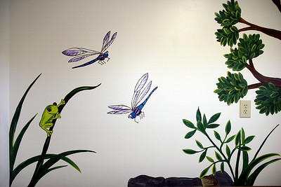 Boiling Springs Medical Associates hosts a reception to show of the new murals painted on several of the patient waiting rooms.