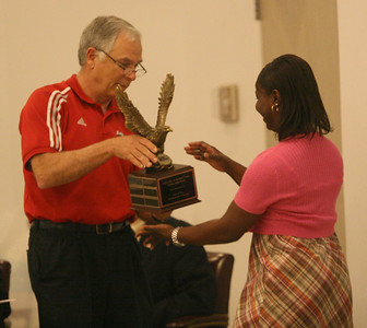 Gardner-Webb University presents annual awards to members of the faculty and staff on Reading Day, 2010.