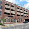 Terre Haute: Exterior of the new parking and transit facility located at 8th and Cherry Streets in downtown Terre Haute.