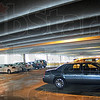 First floor: About a dozen vehicles occupy the first floor of the City-owned parking garage Thursday afternoon.