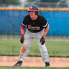 Waiting for the opportunity: Terre Haute South's Richard Wheatfill looks for an opportunity to run to third base from second during the Braves' sectional win over Martinsville Thursday at the Terre Haute North sectional.