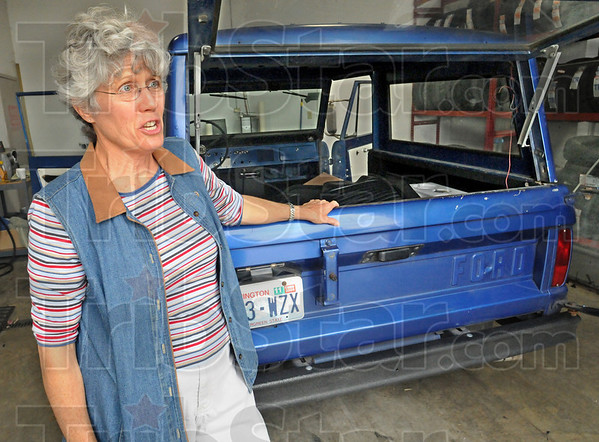 Dale's dream: Dale Griffin's mother Dona talks about his dream of finishing the 1966 Ford Bronco.
