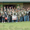 Picture this: Aidan's Army has a group shot taken just prior to the CysticFibrosis walk in Deming Park Sunday afternoon.