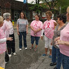 Survivors: Members and supporters of the Wabash Valley Breast Cancer Survivors Organization include: Carol Cochran, Jeri Herbert, Cathy Gillum, Nancy Buck, Norma J. Boyll, Phung Ly and Phylis Fouts. They had gathered at 6th and Wabash Avenue to repaint the pink ribbon, but wet pavement postponed the event.