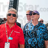 Mario and Jack: Mario Andretti and Jack Nickolson share a laugh as they walk through the teams and their cars before the start of the Indianapolis 500 Mile Race Sunday in Indianapolis.