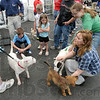 Variety: Several dogs were up for adoption Friday evening in the parking lot of the Petsmart store in Terre Haute. The Petsmart Charities is having its annual adoption event.