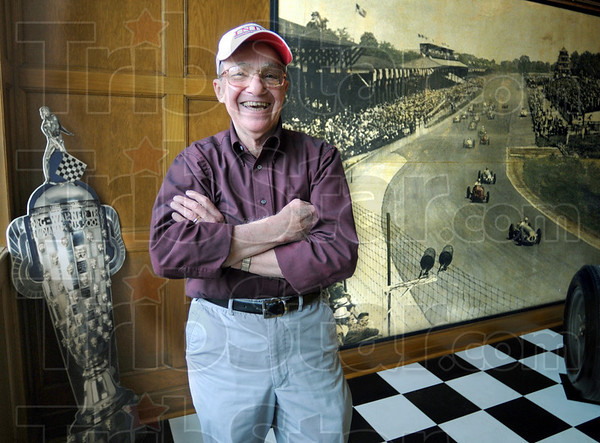 Race fan: Joe Claretto will attend his 55th consecutive Indy 500 race this month.