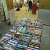 Overflow: Rooms off to the side of the meeting rooms in the lower level of the Vigo County Public Library were opened in order to accommodate all the used books for sale.