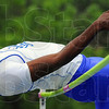 Up and over: Major Clay clears the bar in the high jump at the Pacesetter Invitational Saturday at ISUs Marks Field.