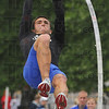Best effort: ISUs Steve Swinford competes in the pole vault Saturday afternoon in the Pacesetter Invitational.